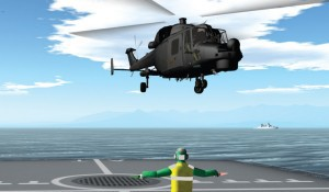 Helicopter Flight Deck Trainer